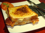 croque kaas en bacon